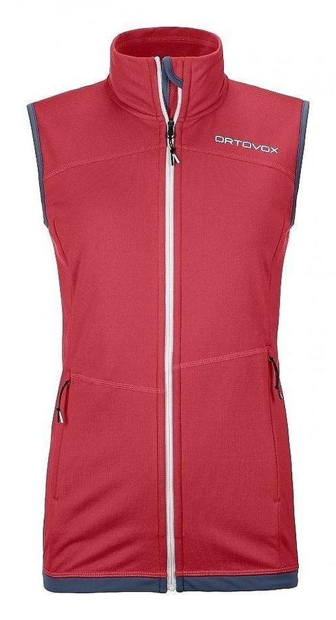 Růžová dámská vesta Ortovox