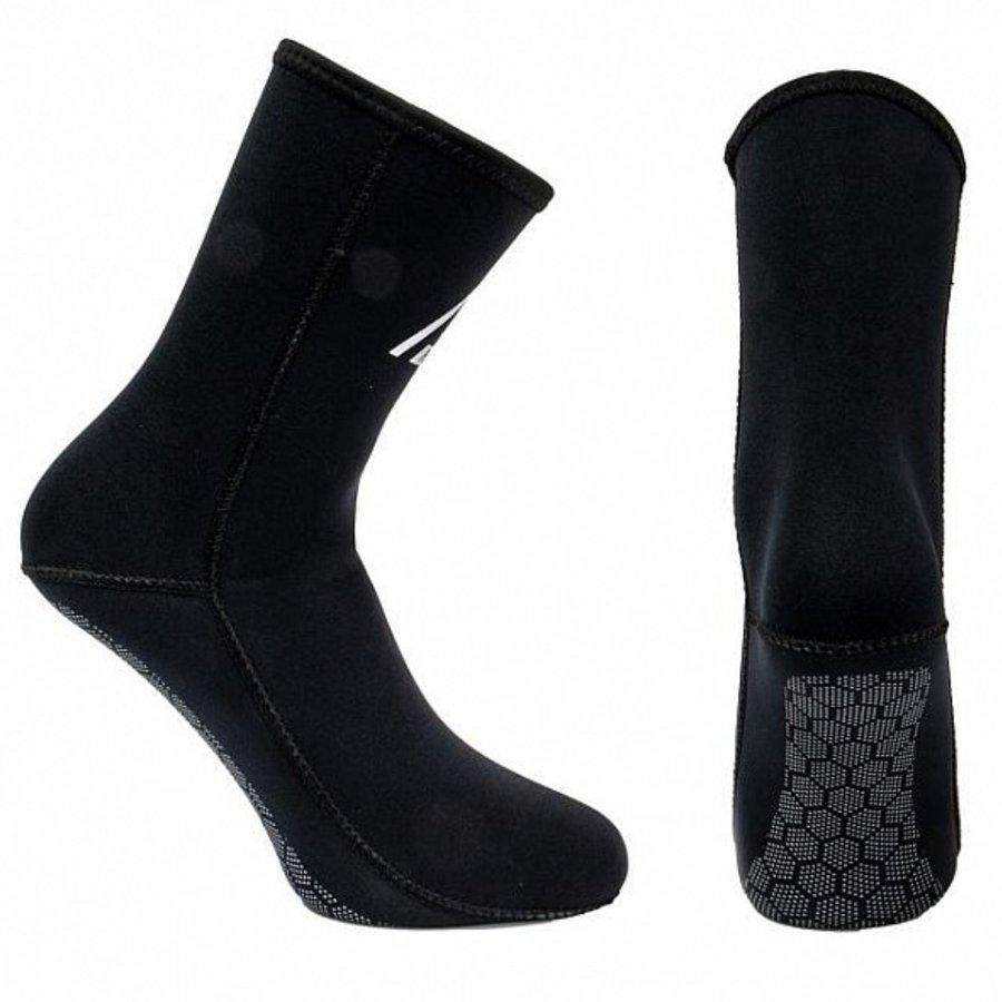 Černé neoprenové ponožky Alpha, Agama - tloušťka 3 mm