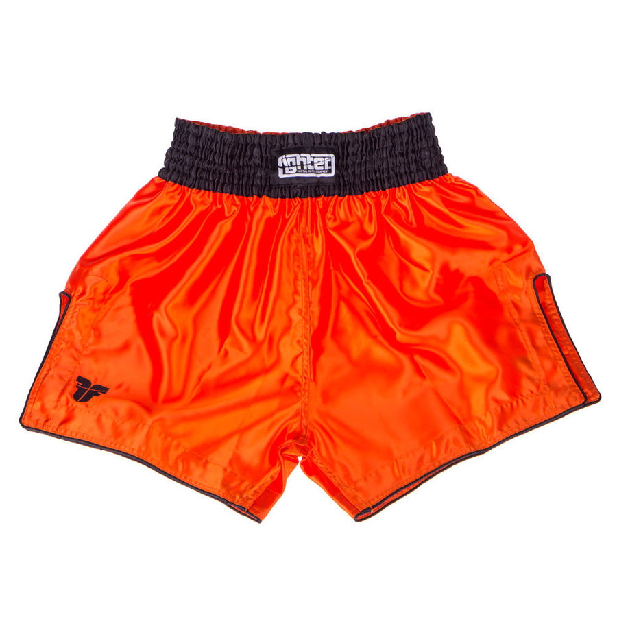 Oranžové thaiboxerské trenky Fighter