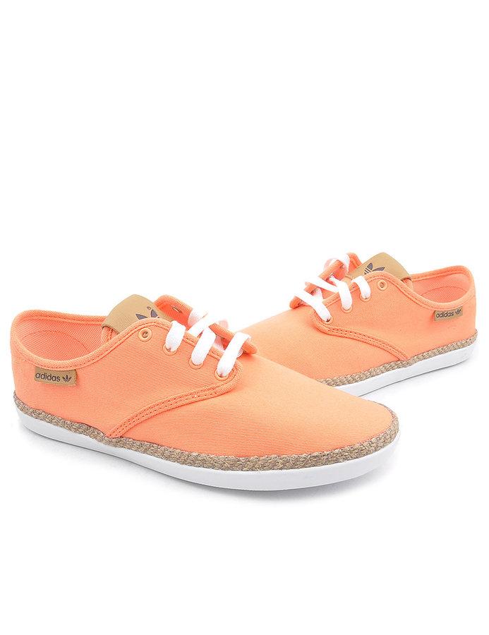 Oranžové dámské tenisky Adidas - velikost 37 EU