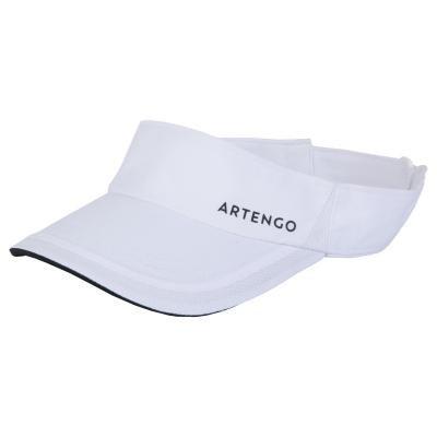 Bílý tenisový kšilt Artengo
