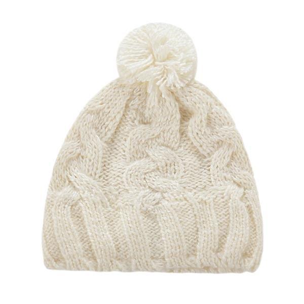Bílá dámská zimní čepice Alpine Pro