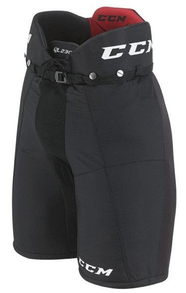 Černé hokejové kalhoty - junior CCM - velikost S