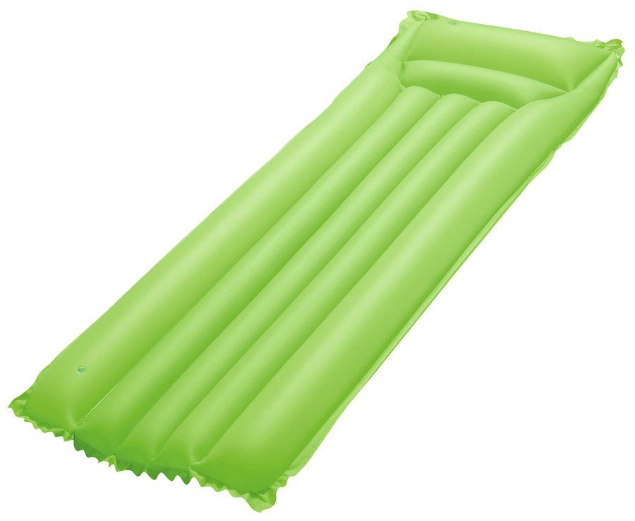 Zelené nafukovací lehátko Bestway - délka 183 cm a šířka 69 cm