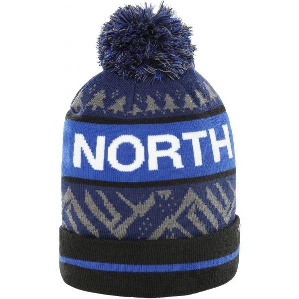 Modrá zimní čepice The North Face