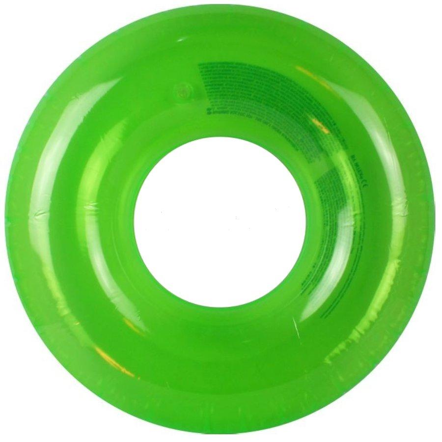 Zelený dětský nafukovací kruh INTEX