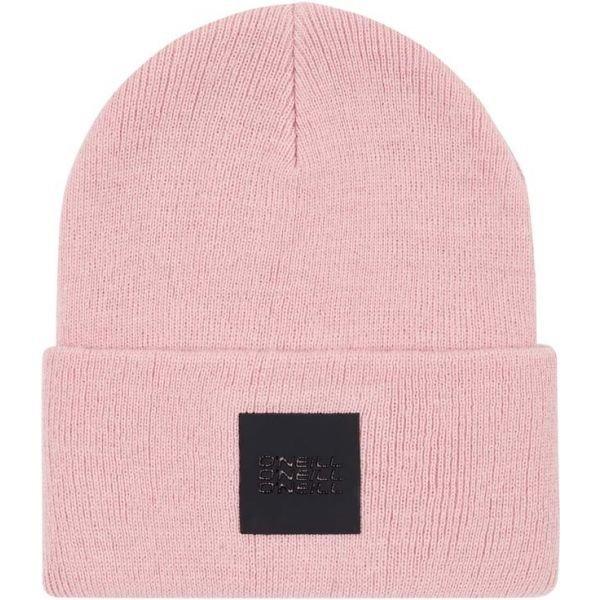 Růžová dámská zimní čepice O'Neill