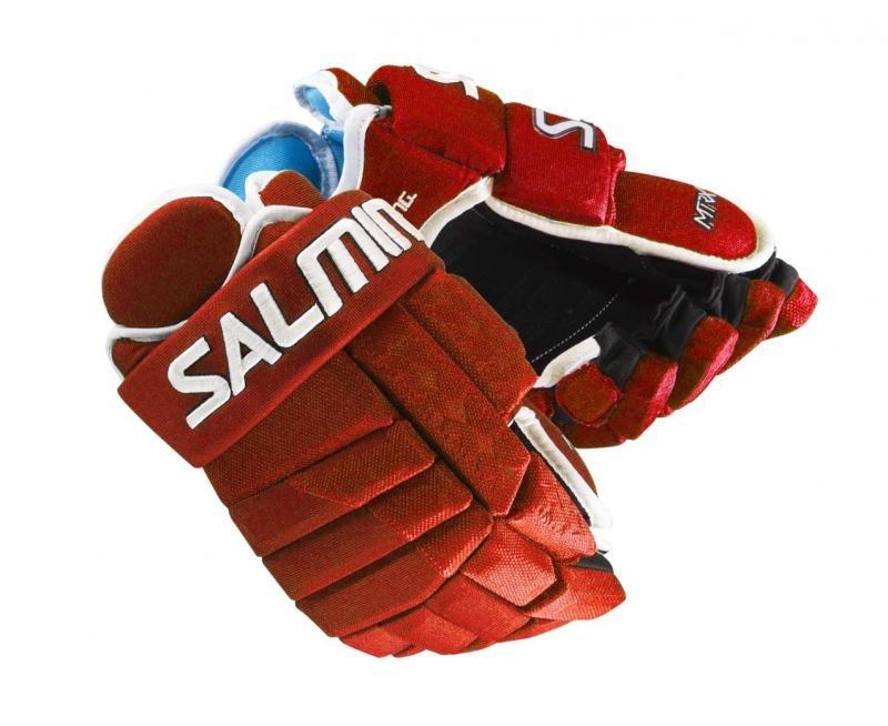 "Hokejové rukavice Salming - velikost 14"""