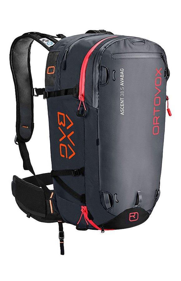 Černý lavinový skialpový batoh Ortovox - objem 38 l