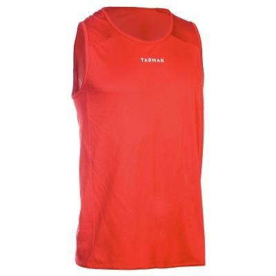 Červený basketbalový dres T100, Tarmak