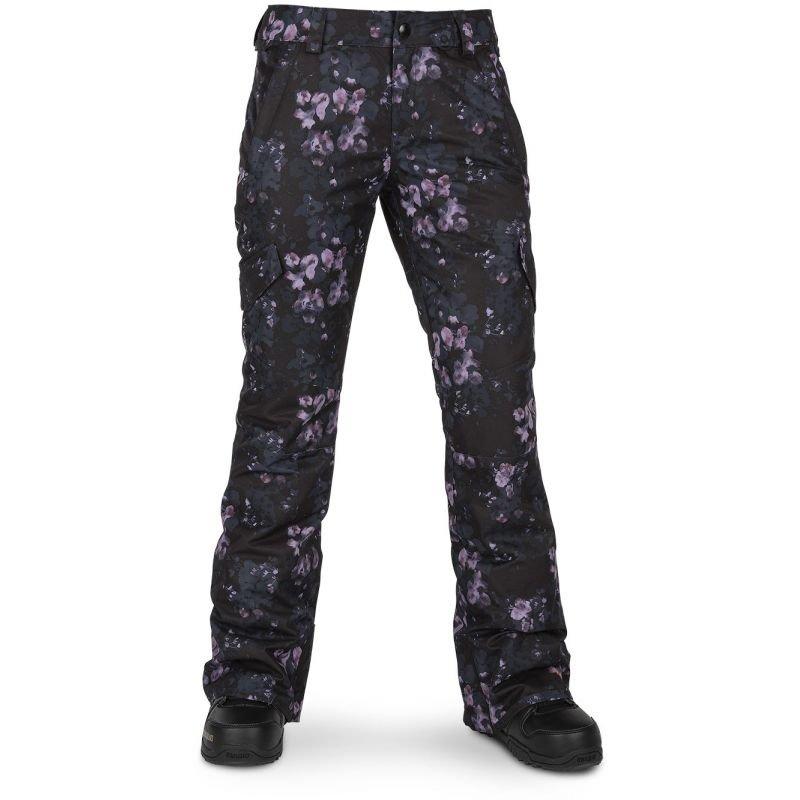 Černé dámské snowboardové kalhoty Volcom - velikost S