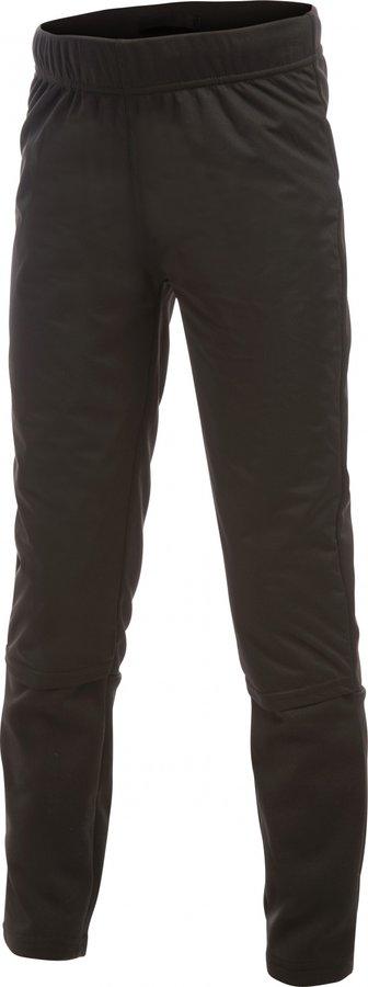 Černé dětské chlapecké nebo dívčí běžecké kalhoty XC Warm Tights Junior, Craft