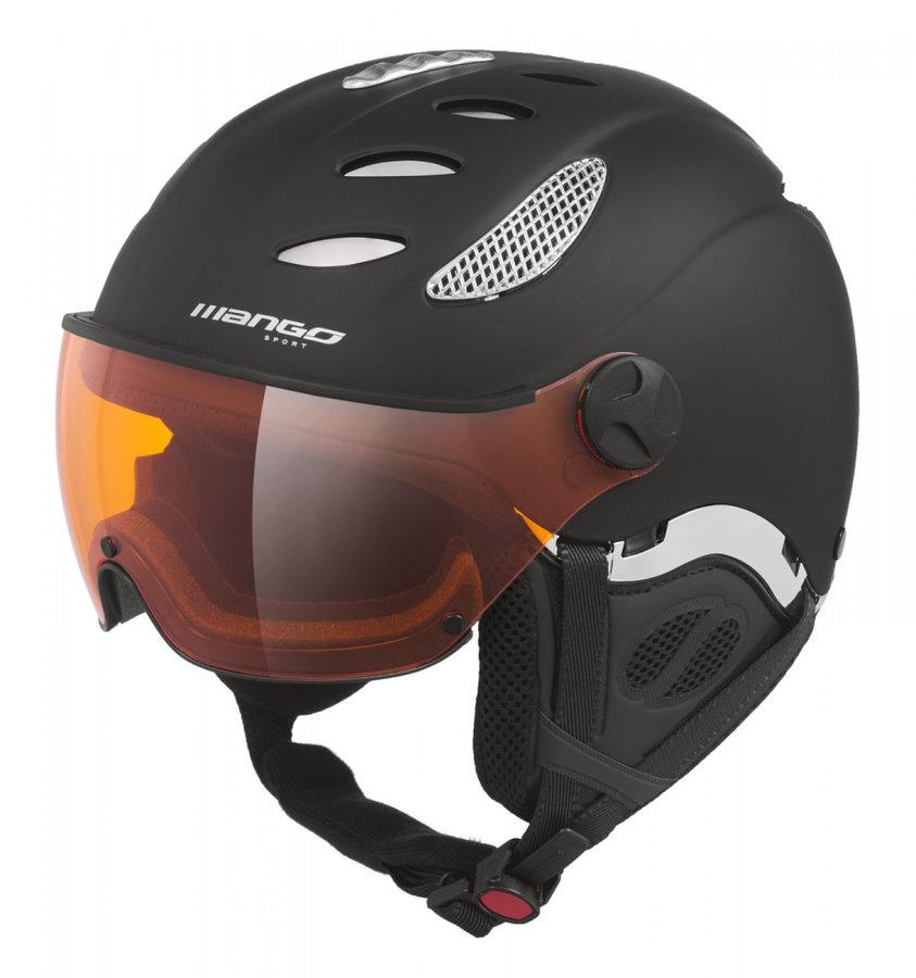 Černá dámská lyžařská helma Mango