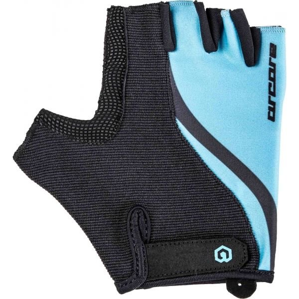 Černo-modré letní cyklistické rukavice Arcore