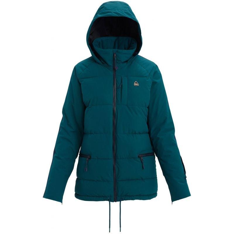 Zelená dámská snowboardová bunda Burton - velikost M