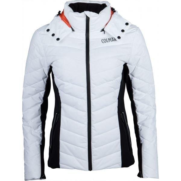 Bílá dámská lyžařská bunda Colmar - velikost 34