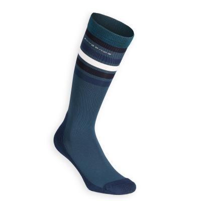 Modré jezdecké podkolenky Fouganza - univerzální velikost