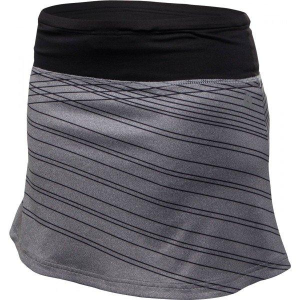 Šedá dámská běžecká sukně Klimatex