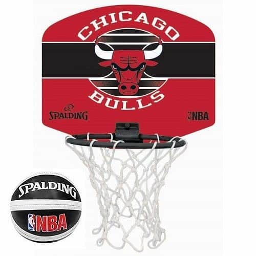 Basketbalový koš - Basketbalový koš Spalding Miniboard NBA Chicago Bulls