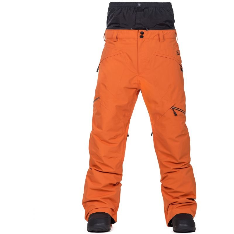 Oranžové pánské snowboardové kalhoty Horsefeathers