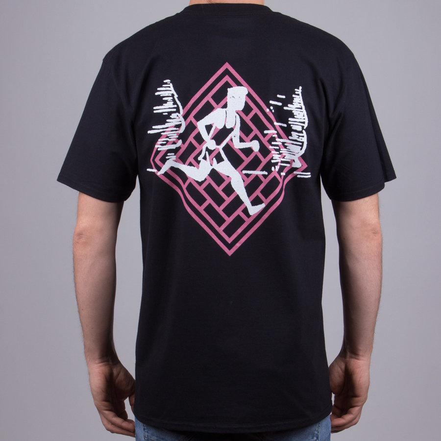 Černé pánské tričko s krátkým rukávem National Skateboard Co. The - velikost M