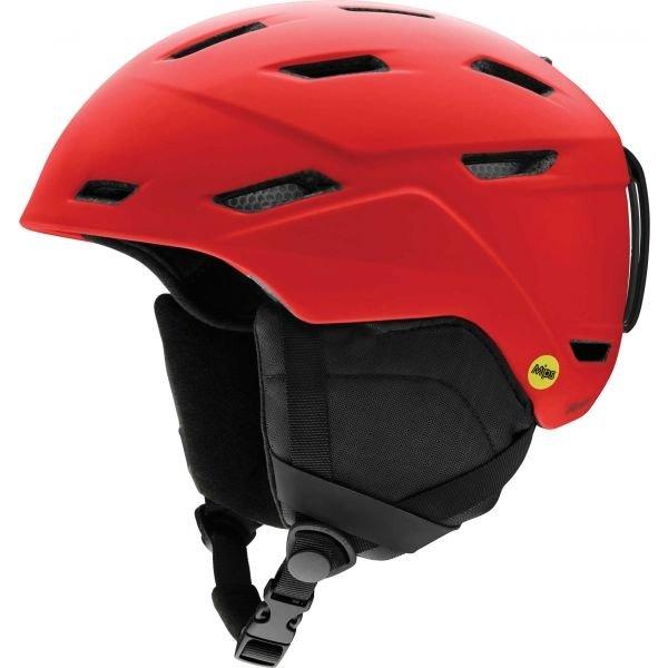 Červená pánská lyžařská helma Smith