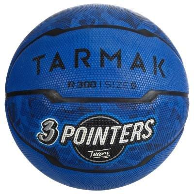 Modrý basketbalový míč Tarmak - velikost 5