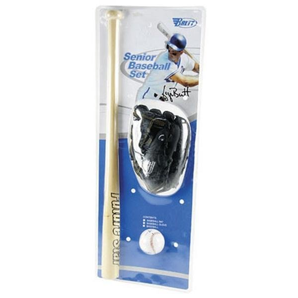 Baseballový set - Baseball set II pálka + míček + rukavice - junior