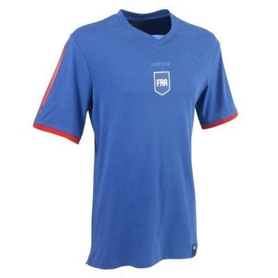 """Modrý fotbalový dres FP500, """"Francouzská reprezentace"""", Kipsta - velikost XXL"""