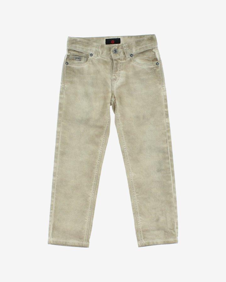 Béžové chlapecké džíny John Richmond - velikost 116