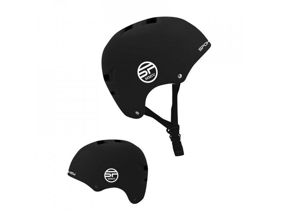 Černá cyklistická helma - velikost L