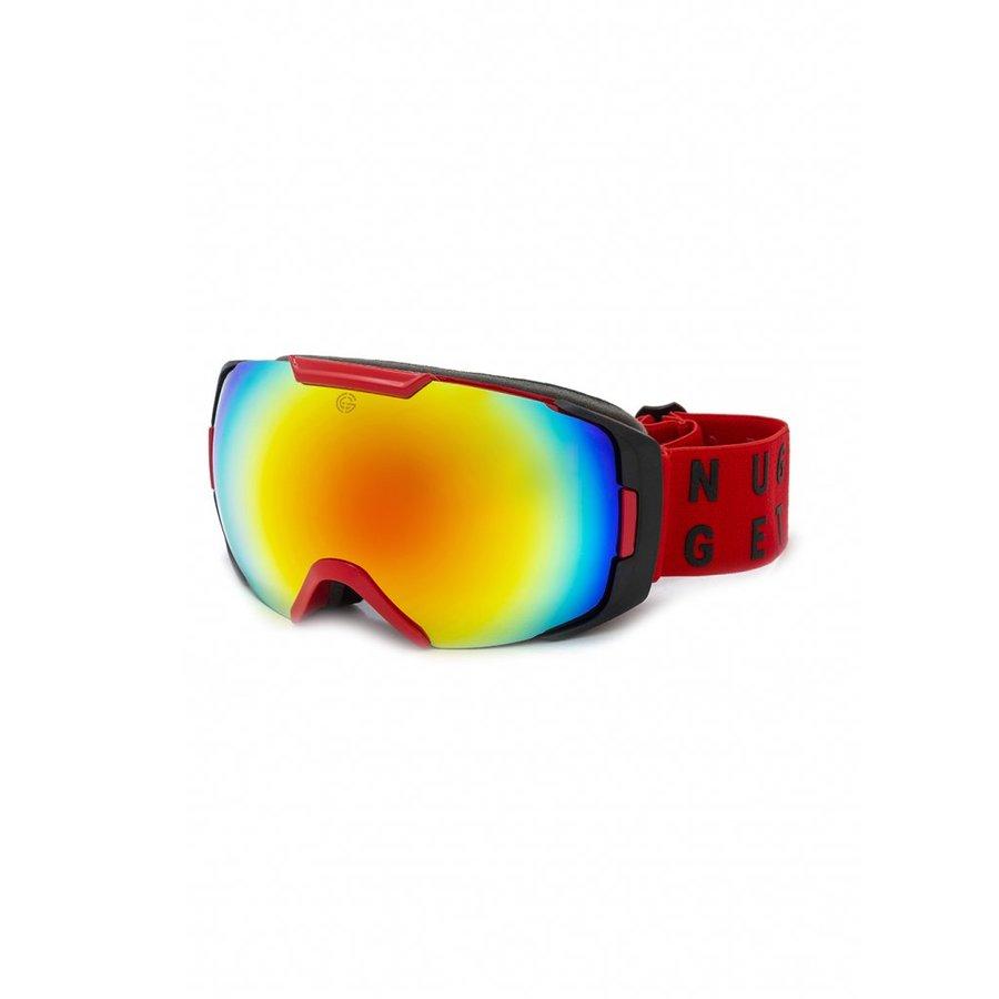 Brýle na snowboard - Nugget Amplifier 4 Goggles D - Red Velikost: JEDNOTNÁ VELIKOST