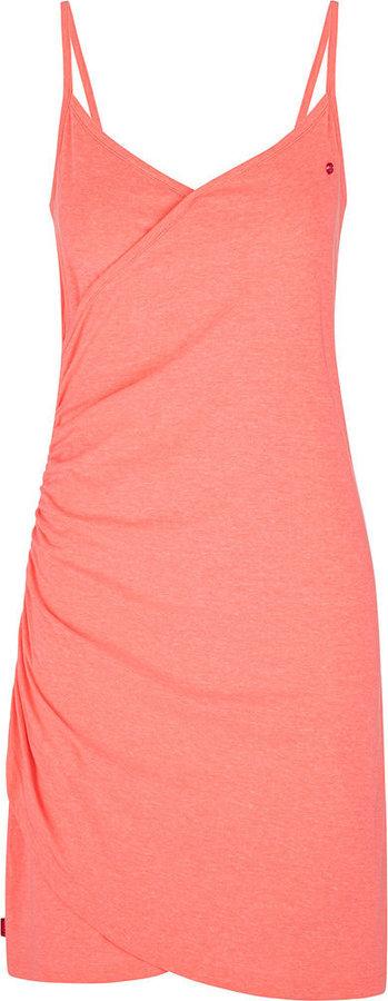 Růžové dámské šaty Loap
