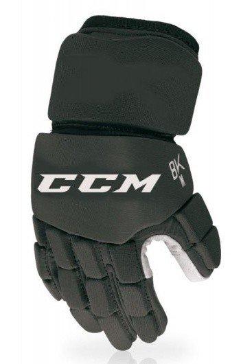 Černé hokejbalové rukavice CCM