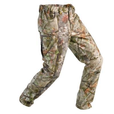 Khaki zimní lovecké kalhoty Solognac
