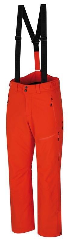 Červené pánské lyžařské kalhoty Hannah