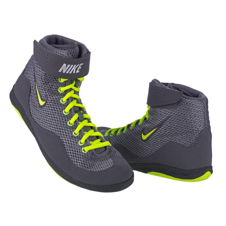 Černé boxerské boty Inflict Wrestling, Nike - velikost 44 EU