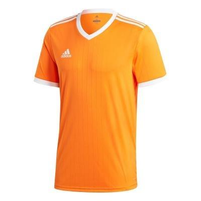 Oranžový fotbalový dres Tabella, Adidas - velikost L
