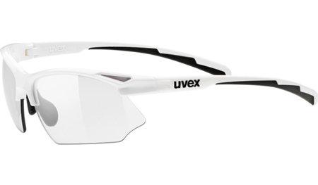 Bílé cyklistické brýle Sportstyle, Uvex