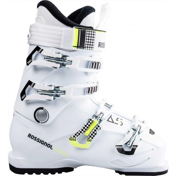 Bílé dámské lyžařské boty Rossignol