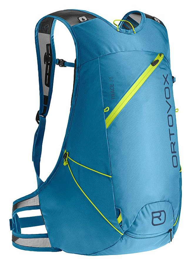Modrý skialpový batoh Ortovox - objem 25 l
