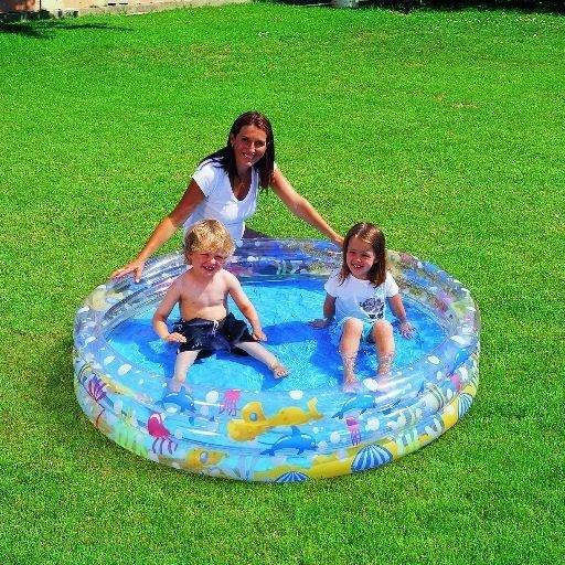 Dětský nafukovací nadzemní kruhový bazén Bestway - průměr 152 cm a výška 30 cm