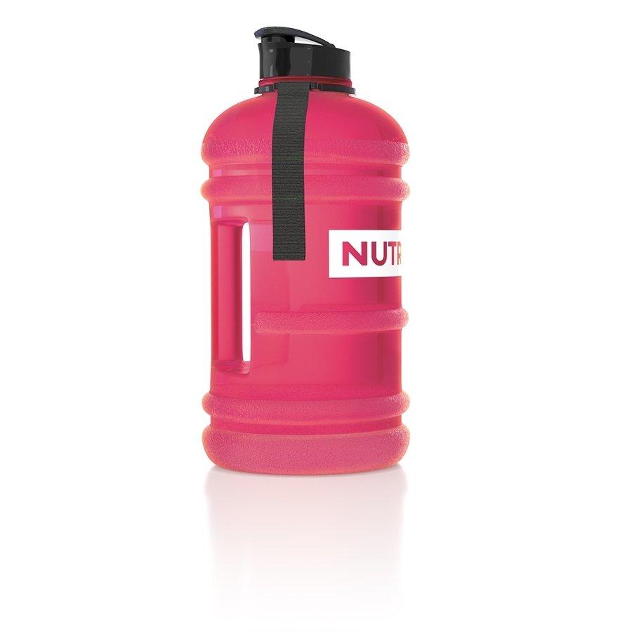 Růžová láhev na pití Nutrend - objem 2,2 l