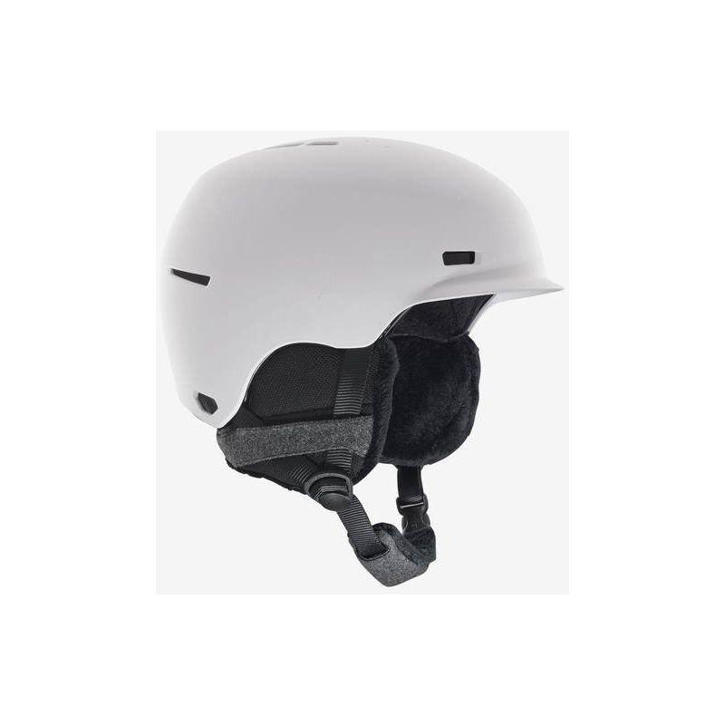 Bílá dámská lyžařská helma Anon - velikost L