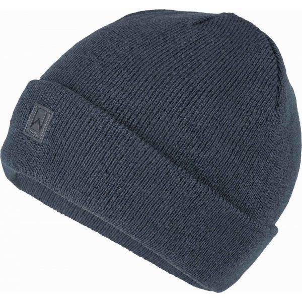 Modrá pánská zimní čepice Willard - univerzální velikost