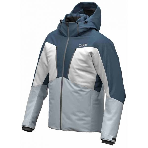 Bílo-modrá pánská lyžařská bunda Colmar