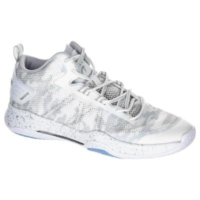 Bílé pánské basketbalové boty SC500 MID, Tarmak