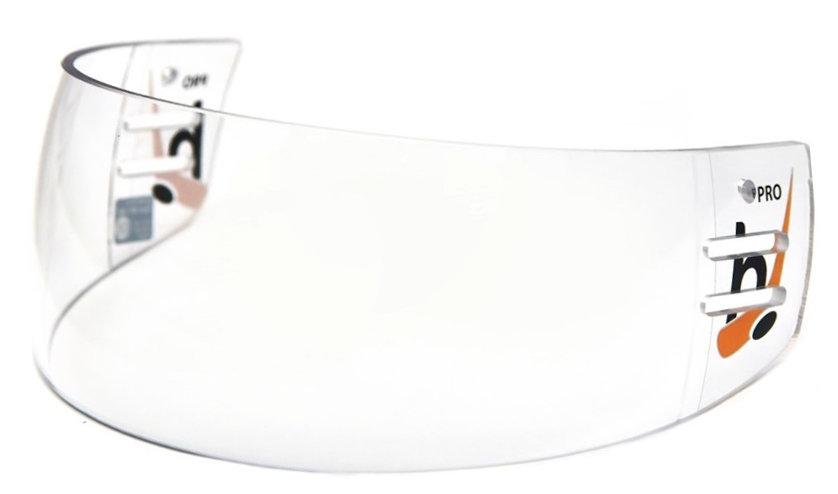 Plexi na hokejovou helmu - Plexi Hejduk MH 500 PRO LINE Barva: čirá