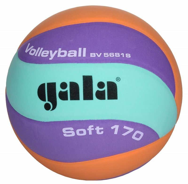 Volejbalový míč - Gala Soft barva: tyrkysová-fialová