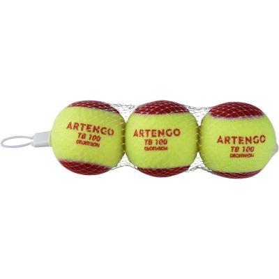 Žlutý tenisový míček TB 100, Artengo - 3 ks